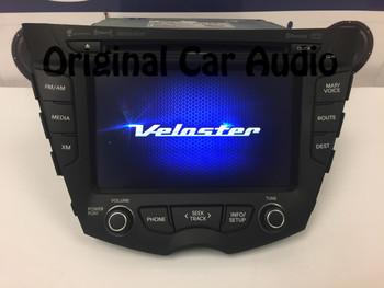 Veloster 12-14 AM FM CD Bluetooth Receiver Navigation Rear view Camera