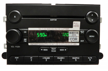 2006 - 2013 FORD Edge Explorer Expedition F150 Truck Radio MP3 CD Player