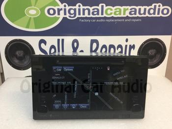 2015-2016 Toyota Sienna AM/FM GPS Navigation Gracenote MP3 HD Radio 510026