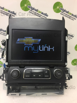 """2014-2016 Chevy Impala 8.4"""" MyLink Display Screen Dash Assembly 23151543"""