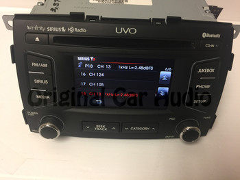 2011 - 2013 Kia Sorento OEM Infinity MP3 SAT CD Player Receiver UVO 96160 1U350CA, 961601U350CA, 96160-1U350CA