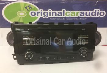 2015 Nissan Altima OEM Non Navigation CD Player AM FM Radio Receiver 28185-3TP1B, 281853TP1B, 28185 3TP1B