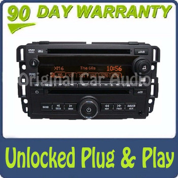 2009 Unlocked Saturn Radio Receiver DVD CD Player AUX MP3 OEM