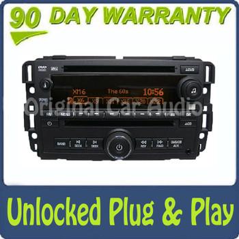 New Unlocked Saturn Radio CD DVD Player MP3 AUX OEM 2007
