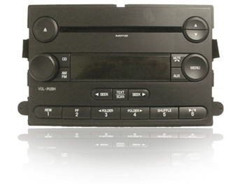 2005 - 2007 FORD Focus F250 F350 OEM Factory MP3 CD Player AM FM Radio Stereo Receiver