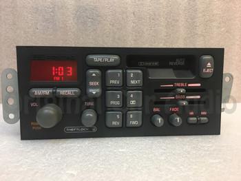 1996 - 2000 Pontiac AM FM Cassette Radio Sunfire Bonneville Firebird Grand Prix