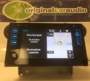 2015 - 2016 Toyota Sienna OEM Navigation Touchscreen XM CD Player Receiver 510157, 86100-08061