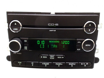 2006 2007 2008 2009 Ford Fusion Mercury Milan OEM 6 Disc CD Disc Changer MP3 Radio Stereo