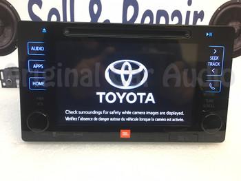 2015 2016 Toyota Prius OEM JBL Entune Navigation GPS HD Radio AM FM Media Receiver Gracenote
