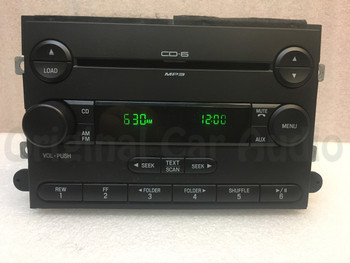 2006 2007 Ford Fusion Mercury Milan AM/FM 6 Disc Changer MP3 CD Player