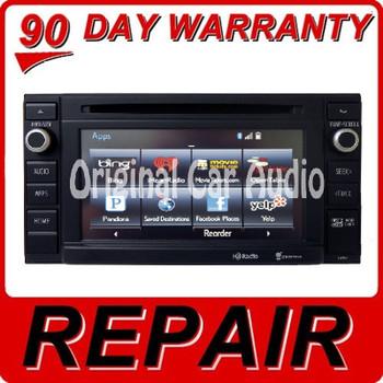 REPAIR SERVICE 2014 2015 Toyota Tacoma OEM Radio Navigation Receiver