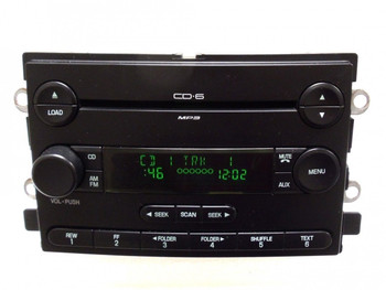 04 05 06 OEM FORD F150 Truck 500 Freestyle MERCURY Montego 6 MP3 CD Player Radio