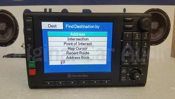 Remanufactured Mercedes-Benz navigation radio CD tape player display screen  A 163 820 20 86