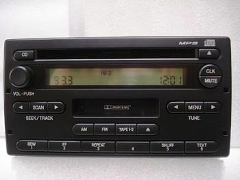1998 - 2004 FORD Ranger Explorer B2300 B2500 B3000 B4000 F150 F250 F350 Radio Stereo MP3 CD player Tape