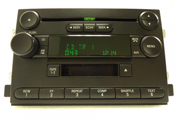 2004 2005 2006 FORD Fusion F-150 Freestyle Mustang OEM Radio Stereo Tape Cassette CD Player Receiver
