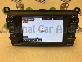2013 - 2017 Toyota Rav4 OEM JBL Entune Navigation Gracenote SAT HD Radio 100576