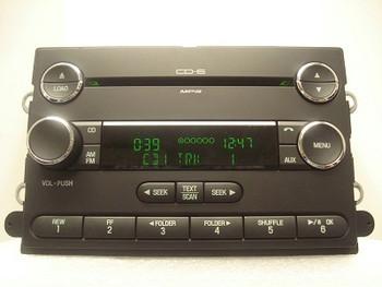 2006 2007 2008 2009 Ford Taurus Five-Hundred OEM 6 Disc CD Disc Changer MP3 Radio Stereo