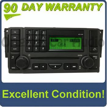 2006 - 2008 Range Rover Sport OEM 6 CD Harman Kardon Radio VUX500340