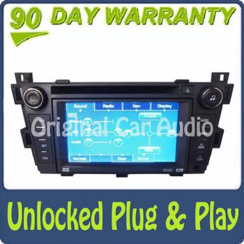 Unlocked Cadillac Navigation DVD BOSE Radio 6 Disc Changer Aux