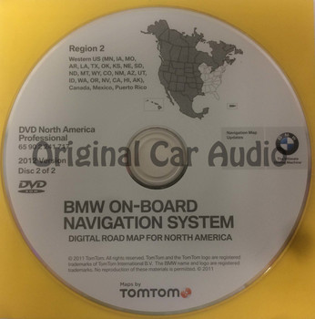(Bm202U) BMW On-Board Navigation System Region 2 65 90 2 241 717