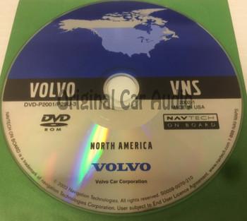 Volvo VNS OEM Navigation DVD North America DVD-P2001/P28U-3