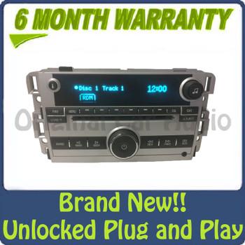 NEW Unlocked 2007 2008 Chevy Chevrolet Pontiac Buick OEM AM FM AUX Radio Receiver 6 CD Changer
