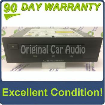 2015 2016 2017 Audi OEM Q7 Multimedia SIM SD CD Player Control Unit