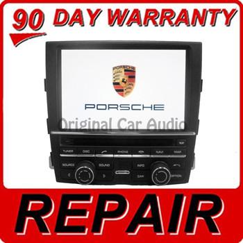 REPAIR 2010 - 2012 Porsche Navigation Touch Screen Display Unit