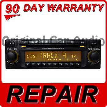 REPAIR 1999 - 2008 Porsche Single CD Player CDR-220 CDR-23 CDR-23 E1