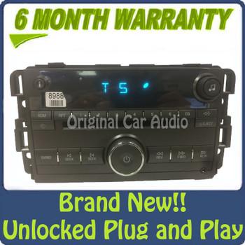 New Unlocked 2008 2009 2010 2011 Buick Lucerne OEM AM FM Radio CD Player Receiver U1C
