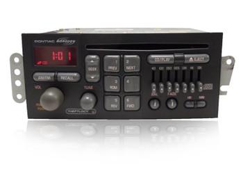 1996 1997 1998 1999 2000 2001 2002 GMC Pontiac Grand Prix Firebird Radio and CD  Player 98 99 00 01 02