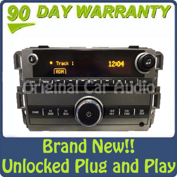 New Unlocked 2008 2009 2010 Saturn OEM AM FM Radio Stereo AUX CD Player Receiver US8