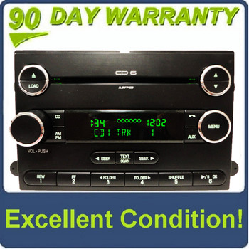 NEW FACE 2006 - 2013 Ford Edge OEM Radio Stereo SUBWOOFER 6 Disc Changer MP3 CD Player Receiver