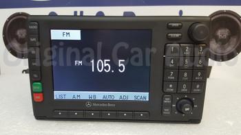 Mercedes-Benz navigation radio CD tape player display screen  A 163 820 19 86