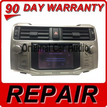 REPAIR 2010 - 2016 Toyota 4Runner OEM Touch Screen Non-Navigation Radio