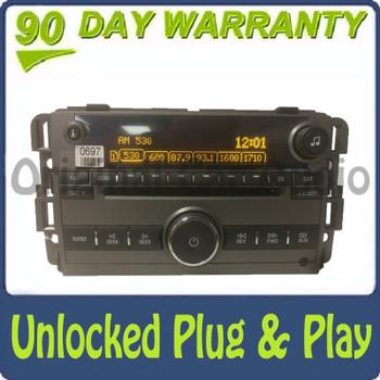 Unlocked 2008 2009 2010 Saturn Vue OEM AM FM Radio Stereo AUX 6 CD Player Receiver US9