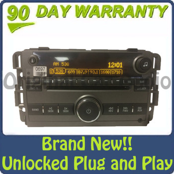 NEW Unlocked 2008 2009 2010 Saturn Vue OEM AM FM Radio Stereo AUX 6 CD Player Receiver US9