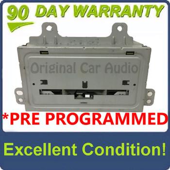 PRE-PROGRAMMED 2012 - 2013 Chevrolet GMC Buick OEM Navigation Single CD AM FM MP3 Radio Receiver Block