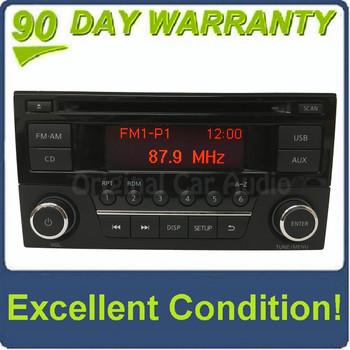 2014 - 2017 Nissan Sentra Versa OEM Single CD AM FM USB Radio Receiver