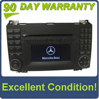 2009 - 2011 Mercedes B-Class B200 OEM AM FM Single CD Bluetooth Radio