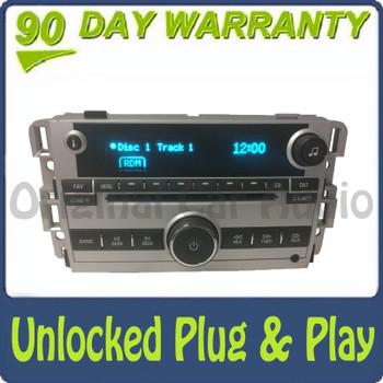 Unlocked 2007 2008 Chevy Chevrolet Pontiac Buick OEM AM FM AUX Radio Receiver 6 CD Changer