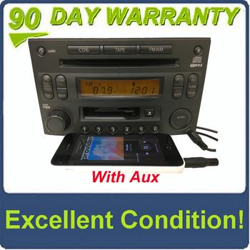 Ni309BTAU) CR160 03 06 Nissan 350Z Radio 6 Disc MP3 CD