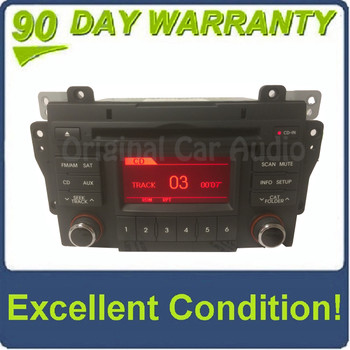 2010 - 2013 Kia Forte OEM Single CD AM FM SAT Radio Bluetooth Receiver