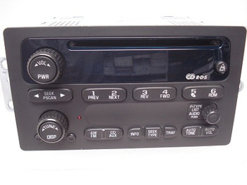 GMC Chevy Radio CD Player Stereo Receiver AM FM OEM