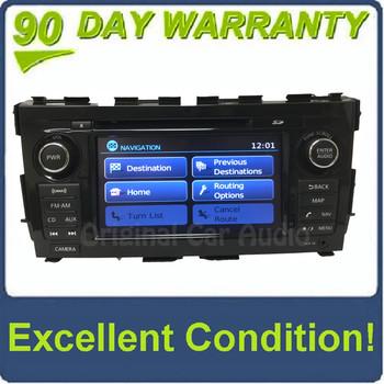 2013 - 2016 Nissan Altima OEM BOSE Touch Screen Navigation AM FM XM Rado Receiver