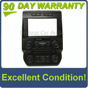"""2015 - 2018 Ford F150 OEM 8"""" Touch Screen Radio Control Climate Control w/Heated Seat Options Bezel ONLY"""