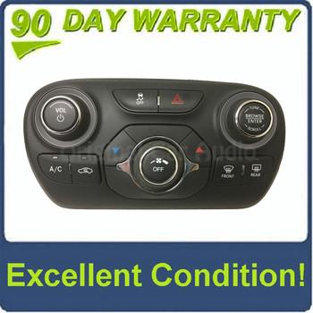 2012 - 2016 Dodge Dart OEM Radio Climate Control Panel ONLY