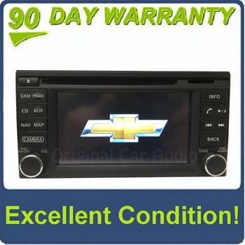 2015 2016 2017 Chevrolet City Express OEM Touch Screen Navigation AM FM Bluetooth SAT Radio