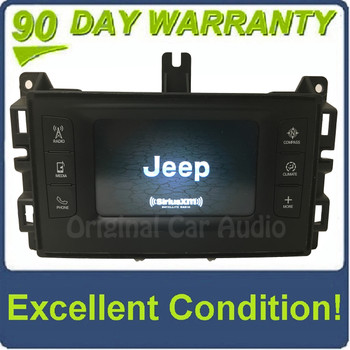 """2014 - 2016 Jeep Grand Cherokee OEM VP2 5"""" Touch Screen AM FM SAT Radio Receiver"""