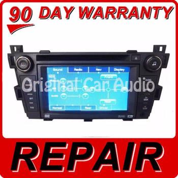 REPAIR SERVICE 2006 2007 2008 2009 2010 2011 CADILLAC DTS SRX OEM NAVIGATION CD RADIO SUPERNAV GPS 6 DISC DVD FIX
